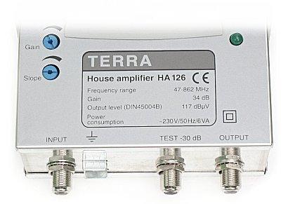Terra House Amplifier Ha 126 Инструкция - фото 11